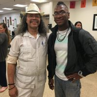Tapia and United Confederation of Taino people Behique Author and Anthropologist Miguel Sague