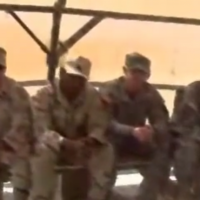 With Fellow Service members Filming Soldiers Never rest in 2006(2)