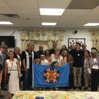 With United Confederation of Taino people in New York